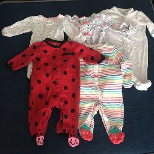 Other - Newborn long sleeves onesies with footies.